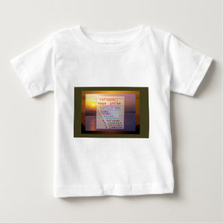 PATANJALI Yoga Meditation Sutra List Baby T-Shirt