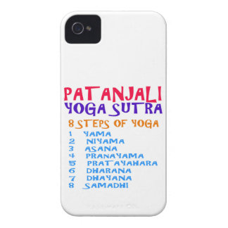 PATANJALI Yoga Sutra Compilation List Case-Mate iPhone 4 Cases