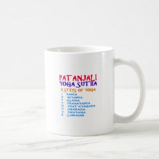 PATANJALI Yoga Sutra Compilation List Coffee Mug