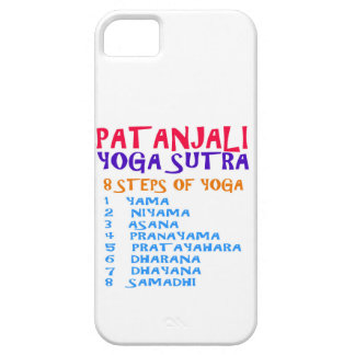 PATANJALI Yoga Sutra Compilation List iPhone SE/5/5s Case
