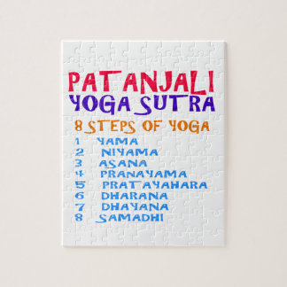 PATANJALI Yoga Sutra Compilation List Jigsaw Puzzle
