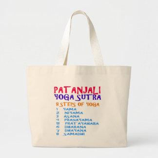 PATANJALI Yoga Sutra Compilation List Large Tote Bag