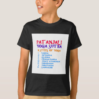 PATANJALI Yoga Sutra Compilation List T-Shirt