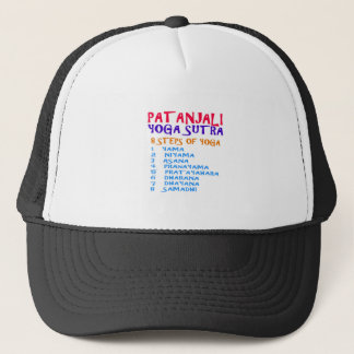 PATANJALI Yoga Sutra Compilation List Trucker Hat