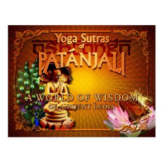 PATANJALI - Yoga Sutras Postcard