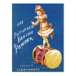 Patapsco Baking Powder vintage ad Postcard