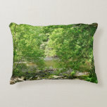 Patapsco River View Maryland Nature Photography Accent Pillow