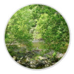 Patapsco River View Maryland Nature Photography Ceramic Knob