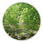 Patapsco River View Maryland Nature Photography Ceramic Knob