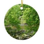 Patapsco River View Maryland Nature Photography Ceramic Ornament