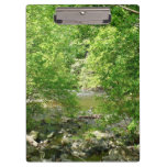 Patapsco River View Maryland Nature Photography Clipboard