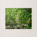 Patapsco River View Maryland Nature Photography Jigsaw Puzzle