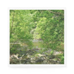 Patapsco River View Maryland Nature Photography Napkin