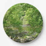 Patapsco River View Maryland Nature Photography Paper Plate