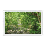 Patapsco River View Maryland Nature Photography Serving Tray