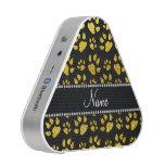 Patas amarillas de neón conocidas personalizadas altavoz
