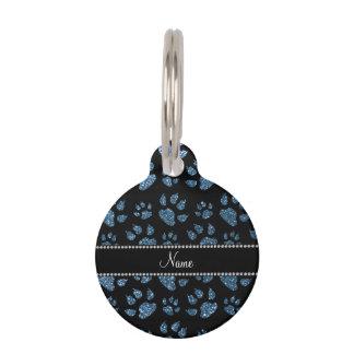 Patas azules brumosas conocidas personalizadas del identificador para mascota