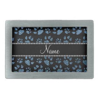 Patas azules brumosas conocidas personalizadas del hebilla de cinturón rectangular
