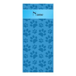 Patas azules brumosas conocidas personalizadas del tarjetas publicitarias