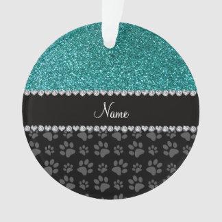 Patas azules conocidas personalizadas del negro