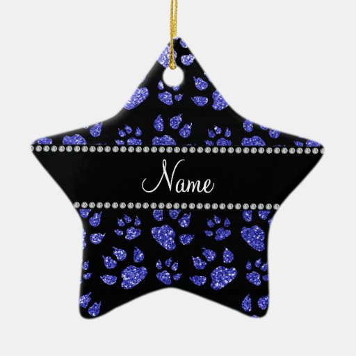 Patas azules de neón conocidas personalizadas del  ornamentos de reyes magos