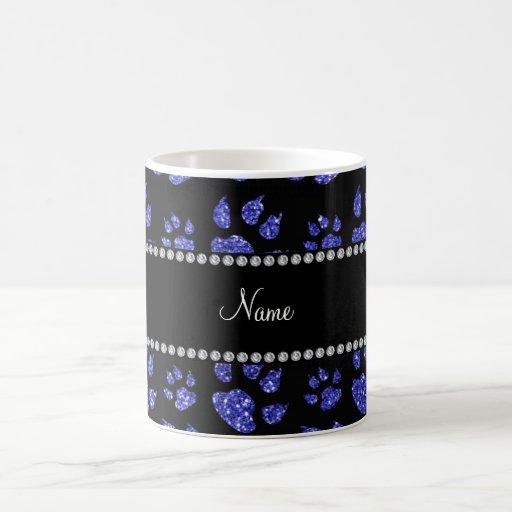 Patas azules de neón conocidas personalizadas del  tazas de café