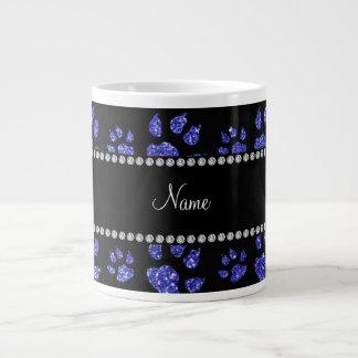 Patas azules de neón conocidas personalizadas del taza grande