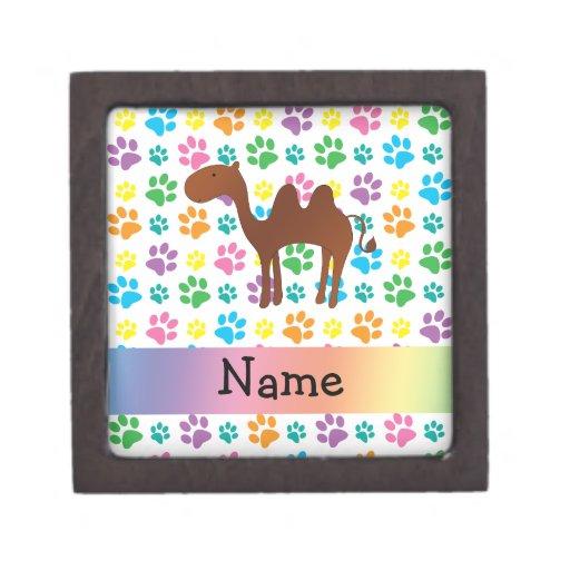 Patas conocidas personalizadas del arco iris del c cajas de recuerdo de calidad