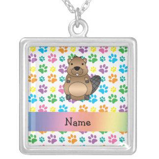 Patas conocidas personalizadas del arco iris del c joyerias
