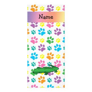 Patas conocidas personalizadas del arco iris del c diseños de tarjetas publicitarias