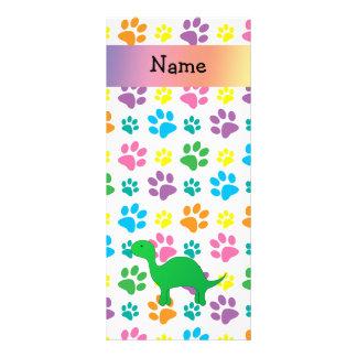 Patas conocidas personalizadas del arco iris del d plantilla de lona