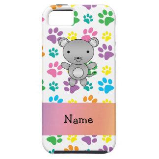 Patas conocidas personalizadas del arco iris del r iPhone 5 Case-Mate cárcasas