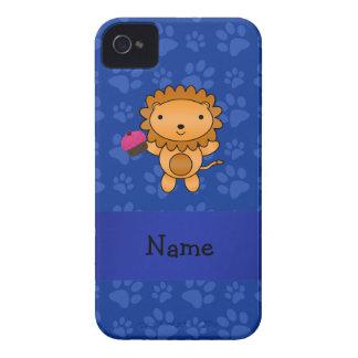 Patas conocidas personalizadas del azul de la magd iPhone 4 Case-Mate cárcasas