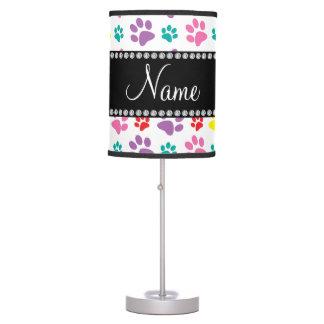 Patas conocidas personalizadas del perro del arco lámpara de escritorio