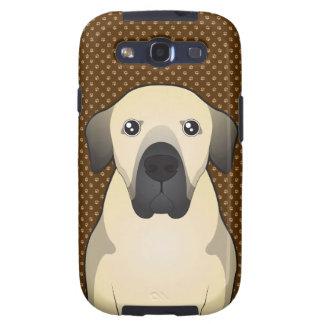 Patas de Anatolia del dibujo animado del perro de  Samsung Galaxy S3 Cárcasa