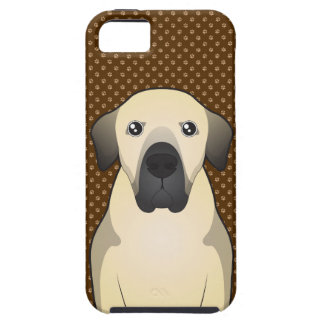 Patas de Anatolia del dibujo animado del perro de  iPhone 5 Cárcasas