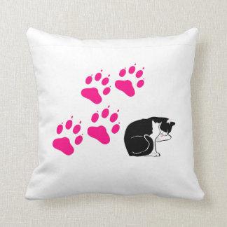 Patas de gato almohadas