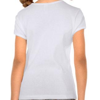 Patas de la operación para la camiseta del chica
