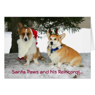 Patas de Santa y su Reincorgi Tarjetas