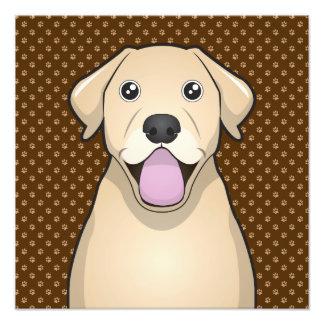 Patas del dibujo animado del labrador retriever (l cojinete