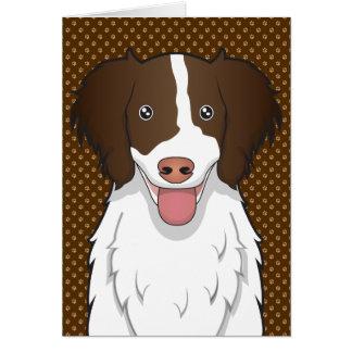 Patas del dibujo animado del perro de aguas de sal