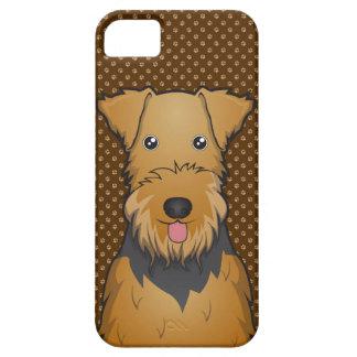 Patas del dibujo animado del perro de Airedale Funda Para iPhone SE/5/5s
