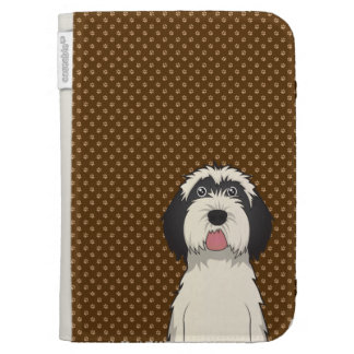 Patas del dibujo animado del perro de Terrier tibe