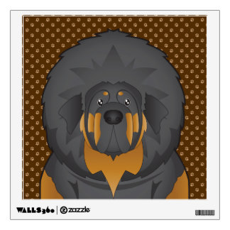 Patas del dibujo animado del perro del mastín tibe