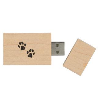 Patas del gatito pen drive de madera USB 2.0