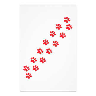 Patas del perro papeleria personalizada