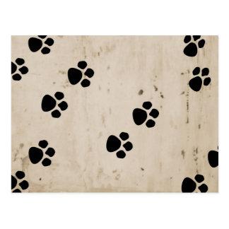 Patas del perro postal