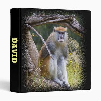 Patas Monkey Vinyl Binders