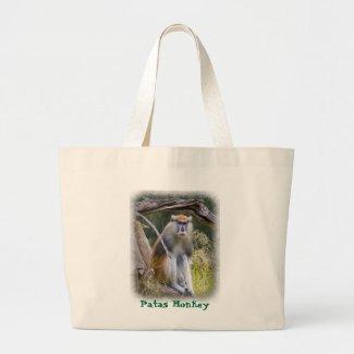 Patas Monkey Canvas Bag