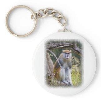 Patas Monkey Key Chain